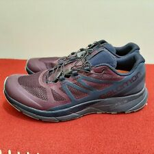 Salomon Men's Sense Ride 3 Ortholite Vibe Purple/Black Trail Running Shoes 10