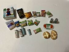 Handmade 1/6� scale doll grocery food items