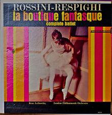 ROSSINI-RESPIGHI: La Boutique Fantasque-NM1967LP LONDON PHILHARMONIC ORCHESTRA
