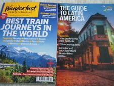 Wanderlust travel magazine march 2018 + guide to latin america mini new