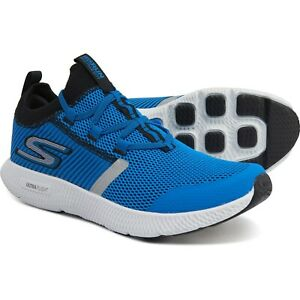 NEW SKECHERS PERFORMANCE GO RUN HORIZON Men's Running Shoes Blue Black 9  $90
