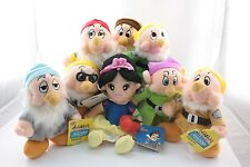 Disney Snow White and the seven Dwarfs Christmas Hot Plush Doll Toy US New