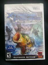 Shimano Xtreme Fishing  (Nintendo Wii, 2009) *New, Sealed*