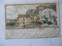Ansichtskarte Meersburg 1897 Künstlerkarte Mutter