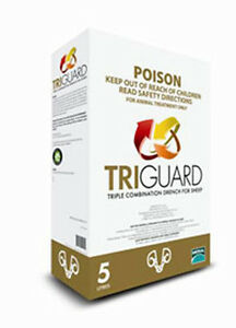 Merial Triguard 5 litre Triple Combination Sheep Drench