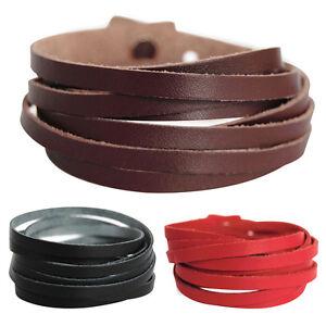 ECHT LEDERARMBAND-SERIE7A-LAM7A  ARMBAND Unisex ! Bracelet Leather Armband