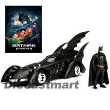 Jada 1:24 1995 Batman Siempre Batmóvil con de Metal Batman Figura Modelo Nuevo