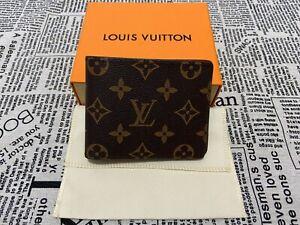 Authentic LOUIS VUITTON Monogram Multiple Bifold Wallet