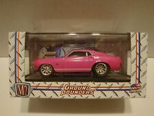 M2 Ground Pounders 1969 Ford Mustang GT Release05 10-23 1:64 Diecast 42-28