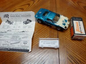 1/24 Slot Car Ford GT Vac Body with Dynamic Frame and Pittman 706 Motor - Used