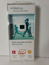New Fitbit Zip White Wireless Activity Tracker FB301W Sealed