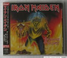 IRON MAIDEN - The Number Of The Beast JAPAN CD NEU RAR! TOCP-40180