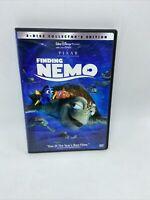 Finding Nemo DVD 2003 2-Disc Set Walt Disney Pixar