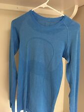 lululemon swiftly tech long sleeve crew, size 4