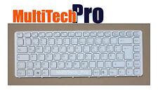 DE Tastatur f. SONY VGN-NW29GF VGN-NW2ER VGN-NW2ET VGN-NW31JF/S Weiss mit Rahmen