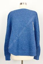 NWT Lauren Ralph Lauren Blue Poncho Sweater With Sleeves XL
