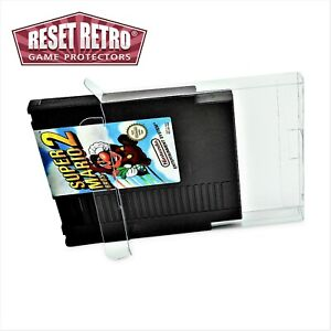 100 x Klarsicht Schutzhüllen für Nintendo Spiele/Module NES Cart 0,3mm
