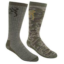 Browning Buckmark Men's Boys Socks - Two Pack - 10-13
