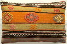 (40*60cm, 16*24cm) Textured handmade pillow cover purple orange tribal lines