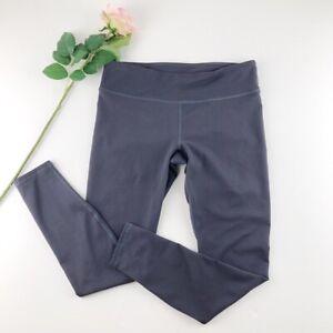 Fabletics Gray Mid-Rise Leggings Sz S