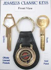 Chrysler Crystal Key Yellow Gold Keys Set Fits 1959 - 1989 Plymouth Dodge