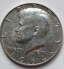 "1964 P Kennedy Half Dollar 90% SILVER US Mint Coin ""Average Circulation"""