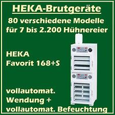 Heka FAVORIT 168 + S - Incubateur avec séparé Dispositif d'Éclosion,pour 192+150