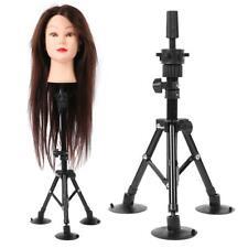 Adjust 60cm Hairdressing Training Mannequin Head Tripod Stand Wig Holder Barber