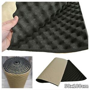 Sound Deadener Car Heat Shield Sound Proof Deadening Foam Mat Noise Insulation