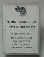 """""""Hello Enron"""" Pilot DAT Digital Audio Tape Final Version 10-30-98 by HSCS"""