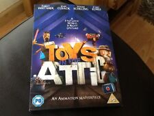 TOYS IN THE ATTIC . DVD + SLIPCASE ANIMATED FILM . FOREST WHITAKER . JOAN CUSACK