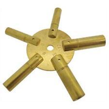 Clé étoile 5 en 1 pour pendule et horloge N° 4 à 12 - Star Clock Key-