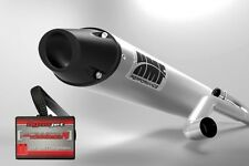 HMF Performance MX Full Exhaust Black Cap + Dynojet PCV PC V LT-R450 LTR450 450