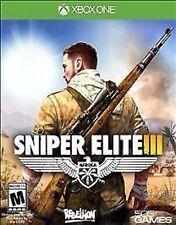 Sniper Elite III 3 USED SEALED Microsoft Xbox One 1 XB1 XB3 **FREE SHIPPING!!