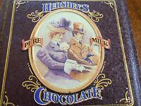 1995 vintage hersheys chocolate tin , vintage edition #4
