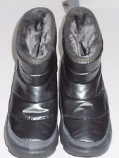 Bobs by Skechers Angel Face ankle boots womans 6.5 NWOB gray silver plush foam
