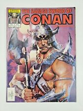 Savage Sword of Conan #102 Bill Sienkiewicz Cover 1984 Marvel Comics