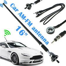 16in Car Radio Amfm Amplified Signal Aerial Antenna Mount Swivel Base Universal