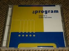 the program songs for a broken hard drive BRAND NEW FACTORY SEALED MUSIC CD