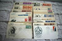 1950's First Day Issue Lot Boy Scouts Future Farmers Hawaii Red Cross AAA Conser