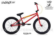 Eastern Lowdown BMX Bicycle-Red