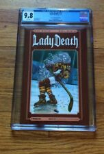 Lady Death #25 Sexy Sport LIMITED EDITION HOCKEY Cover HIGHEST CGC9.8 GRADE