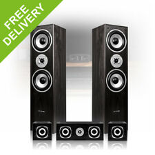 5.0 Surround Sound Speakers Black Finish Home Cinema Hi-Fi Theatre System 1150W