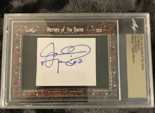 2018 leaf heroes of the game Johnny Manziel Auto