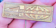 DIAMANT BOART 1977 world-leading brand in the stone industry 51 mm L pin badge