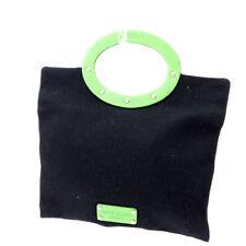 Kate Spade Handbag Green Black Woman Authentic Used F723
