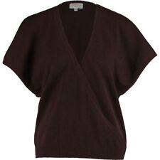 ERIC BOMPARD Ladies Luxurious Brown Cashmere Wrap Cardigan - Large - rrp £140