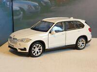 WHITE BMW X5 1.38 DIECAST MODEL TOY CAR PRESENT BIRTHDAY BOYS TOYS BOXED NEW