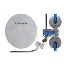 Maxview MXL026 Remora 40 Portable Satellite Dish TV Kit Suction Mount Motorhomes