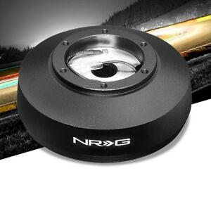 NRG SRK-161H Short Steering Wheel Hub Adapter Black For 92-97 Ford Truck